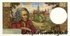 10 Francs VOLTAIRE FRANCE  1968 F.62.33 SUP