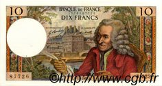 10 Francs VOLTAIRE FRANCE  1969 F.62.40 SUP+