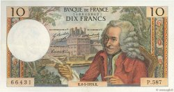 10 Francs VOLTAIRE FRANCE  1970 F.62.44 SUP