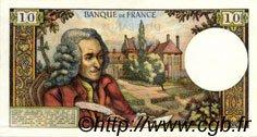 10 Francs VOLTAIRE FRANCE  1970 F.62.45 SUP