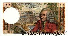 10 Francs VOLTAIRE FRANCE  1970 F.62.45 SUP+ à SPL