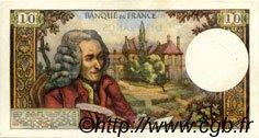 10 Francs VOLTAIRE FRANCE  1970 F.62.46 SUP