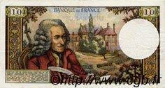 10 Francs VOLTAIRE FRANCE  1971 F.62.48 TTB+