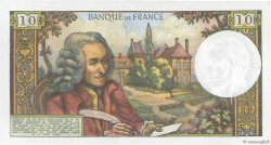 10 Francs VOLTAIRE FRANCE  1971 F.62.51 pr.SPL