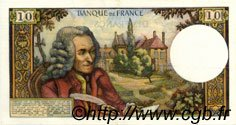 10 Francs VOLTAIRE FRANCE  1971 F.62.52 SUP+