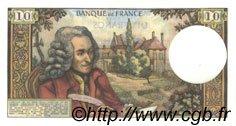 10 Francs VOLTAIRE FRANCE  1971 F.62.53 pr.SPL