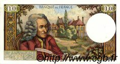 10 Francs VOLTAIRE FRANCE  1972 F.62.55 SUP+