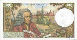 10 Francs VOLTAIRE FRANCE  1973 F.62.60 pr.SPL