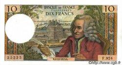 10 Francs VOLTAIRE FRANCE  1973 F.62.64 SUP+