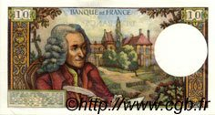 10 Francs VOLTAIRE FRANCE  1973 F.62.65 SUP+ à SPL