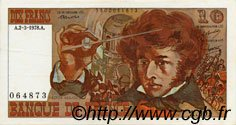 10 Francs BERLIOZ FRANCE  1972 F.63 TTB