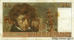 10 Francs BERLIOZ FRANCE  1972 F.63.01 TB