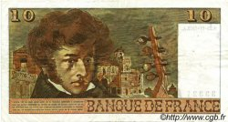 10 Francs BERLIOZ FRANCE  1972 F.63.01 TTB