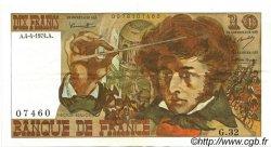 10 Francs BERLIOZ FRANCE  1974 F.63.04 pr.SUP