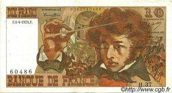 10 Francs BERLIOZ FRANCE  1974 F.63.04 SUP