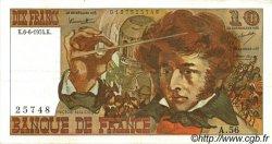 10 Francs BERLIOZ FRANCE  1974 F.63.05 SUP