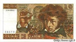 10 Francs BERLIOZ FRANCE  1974 F.63.06 pr.SUP