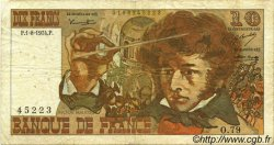 10 Francs BERLIOZ FRANCE  1974 F.63.06 B+