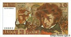 10 Francs BERLIOZ FRANCE  1974 F.63.07a TTB+