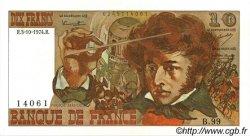 10 Francs BERLIOZ FRANCE  1974 F.63.07a SPL+