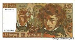 10 Francs BERLIOZ FRANCE  1975 F.63.08 SUP