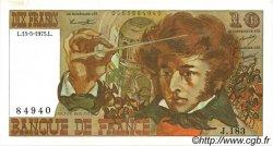 10 Francs BERLIOZ FRANCE  1975 F.63.10 pr.SPL