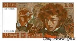 10 Francs BERLIOZ FRANCE  1975 F.63.11 SPL