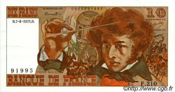 10 Francs BERLIOZ FRANCE  1975 F.63.12 SPL+
