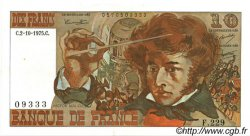 10 Francs BERLIOZ FRANCE  1975 F.63.13 SUP+