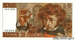 10 Francs BERLIOZ FRANCE  1975 F.63.14 SPL
