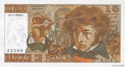 10 Francs BERLIOZ FRANCE  1976 F.63.16 SPL