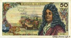 50 Francs RACINE FRANCE  1967 F.64.09 TB+