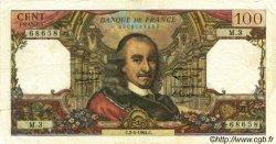 100 Francs CORNEILLE FRANCE  1964 F.65.01 TTB