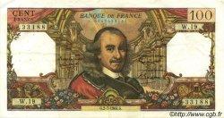 100 Francs CORNEILLE FRANCE  1964 F.65.02 TTB