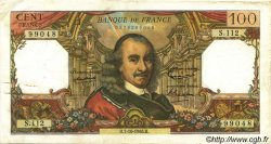 100 Francs CORNEILLE FRANCE  1965 F.65.09 TTB+
