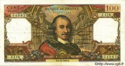 100 Francs CORNEILLE FRANCE  1965 F.65.10 TB+