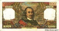 100 Francs CORNEILLE FRANCE  1966 F.65.11 TB