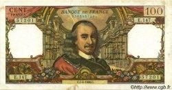 100 Francs CORNEILLE FRANCE  1966 F.65.12 TTB+