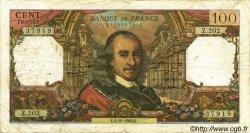 100 Francs CORNEILLE FRANCE  1966 F.65.15 B+