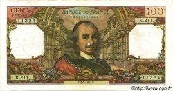 100 Francs CORNEILLE FRANCE  1967 F.65.16 TTB