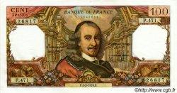 100 Francs CORNEILLE FRANCE  1970 F.65.30 SUP