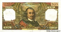 100 Francs CORNEILLE FRANCE  1971 F.65.37 pr.SUP