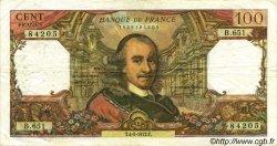 100 Francs CORNEILLE FRANCE  1972 F.65.39 pr.TB