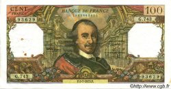 100 Francs CORNEILLE FRANCE  1973 F.65.43 TTB+
