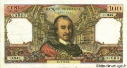 100 Francs CORNEILLE FRANCE  1976 F.65.52 TTB