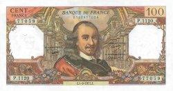 100 Francs CORNEILLE FRANCE  1977 F.65.59 SUP à SPL