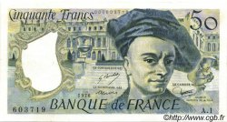 50 Francs QUENTIN DE LA TOUR FRANCE  1976 F.67.01 SUP