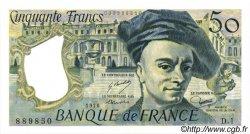50 Francs QUENTIN DE LA TOUR FRANCE  1976 F.67.01 SUP+