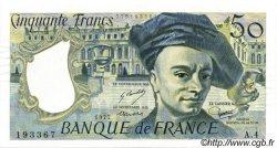 50 Francs QUENTIN DE LA TOUR FRANCE  1977 F.67.02 SUP