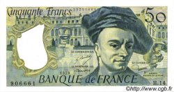 50 Francs QUENTIN DE LA TOUR FRANCE  1979 F.67.04 NEUF